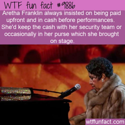 fun fact aretha franklin