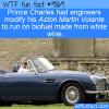 Prince Charles' Aston Martin