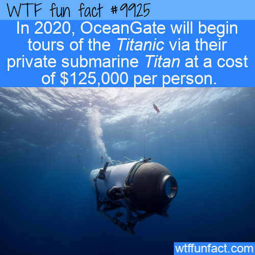 fun fact titanic tours