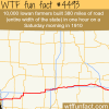 10000 iowan farmers make a 300 mile of highway in one
