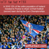 12 of iceland population traveled to france to