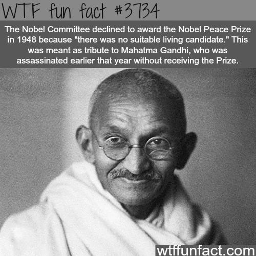 1948 Nobel prize winner - WTF fun facts