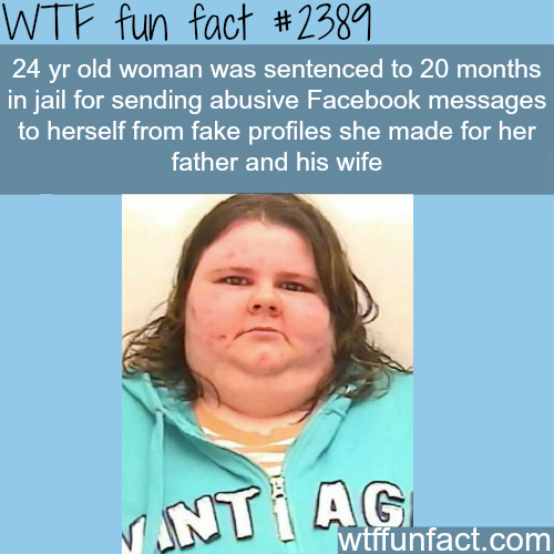 24 year old woman charged for sending threats to herself -WTF funfacts