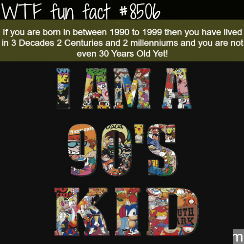 90s Kids - WTF fun facts