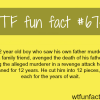 a 12 year old boy planned a murder for 12 years
