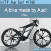 a bike made by audi e bike