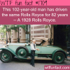 a man has driven the same car for 82 years wtf
