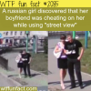 a russian girl found her boyfriend cheating