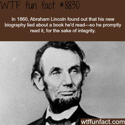 Abraham Lincoln - WTF fun facts