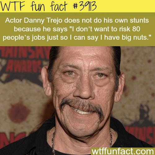 Actor Danny Trejo - WTF fun facts
