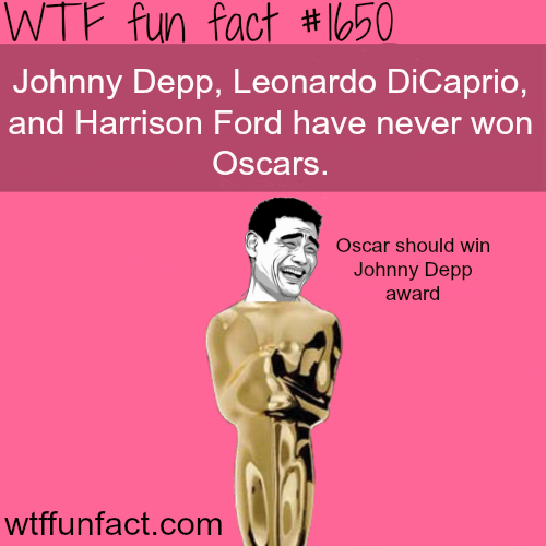 Actors who never won an Oscar - WTF fun facts