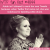adeles drunk tweeting wtf fun facts