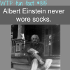 albert einstein weird facts