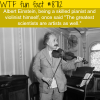 albert einstein wtf fun facts
