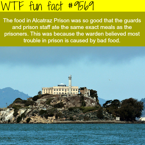 Alcatraz Prison - WTF fun fact