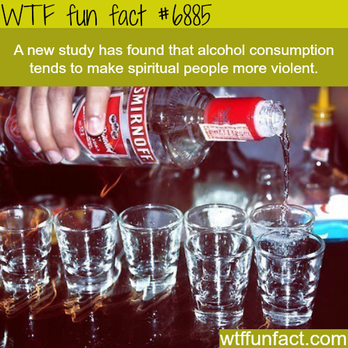 Alcohol consumption - WTF fun facts