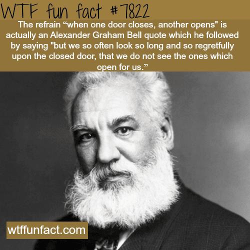 Alexander Graham Bell - WTF fun facts