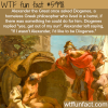 alexander the great and diogenes wtf fun facts