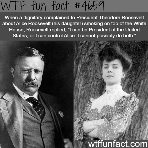 Alice Roosevelt - WTF fun facts