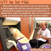 allen partons and his dog who helped save his life
