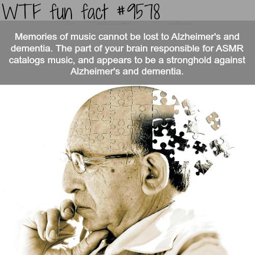 Alzheimer - WTF fun fact