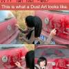 amazing dust art