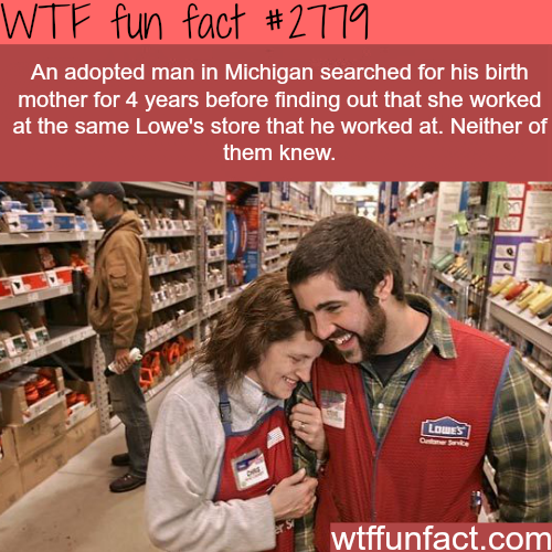 An Adopted man and his mother