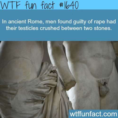 Ancient Rome laws - WTF fun facts