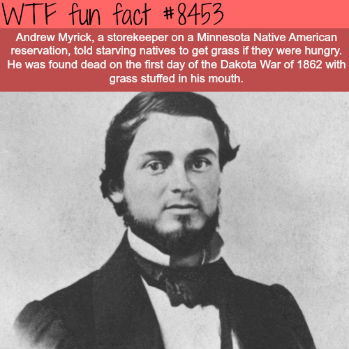 Andrew Myrick - WTF fun facts