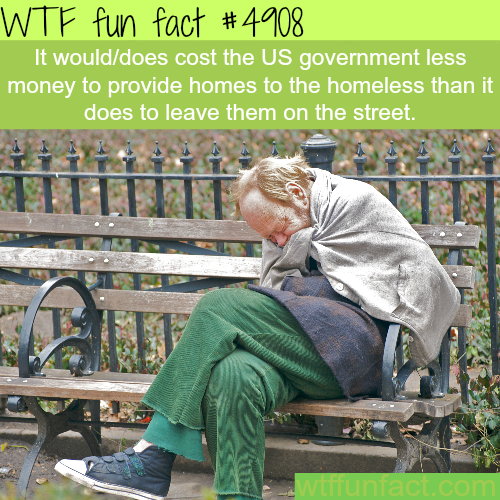 Another good reason to end homelessness - WTF fun facts