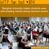anti cheating helmet during exams wtf fun facts