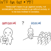antisocial wtf fun facts