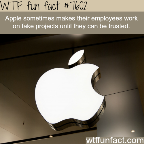 Apple secret facts - WTF fun fact