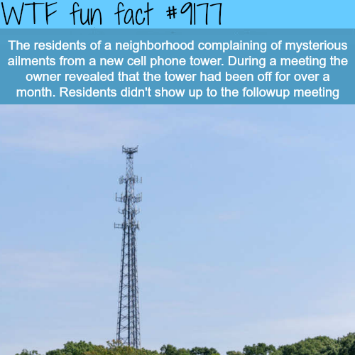Are cell phone towers harmful to your health - WTF Fun Facts