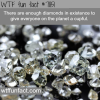 are diamonds rare wtf fun facts
