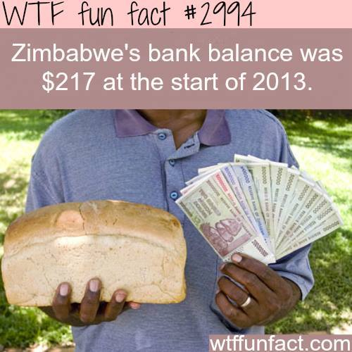 Are you richer than a whole country? -WTF fun facts