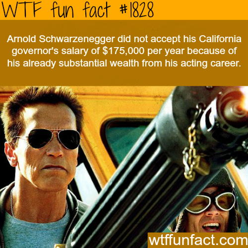 Arnold Schwarzenegger net-worth - WTF fun facts