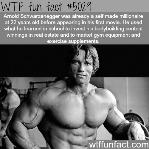Arnold Schwarzenegger - WTF fun facts