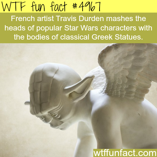 Art work by Travis Durden - WTF fun facts