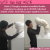 artist li hongbos paper sculpture wtf fun facts