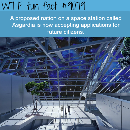 Asgardia - WTF fun fact
