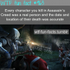 assassin creed games fact