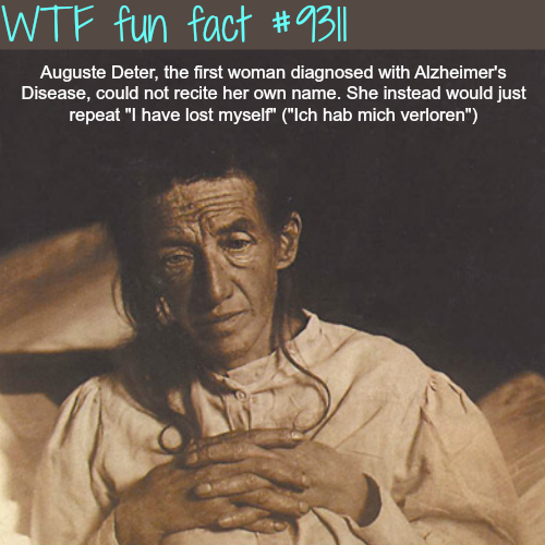 Auguste Deter - WTF Fun Fact