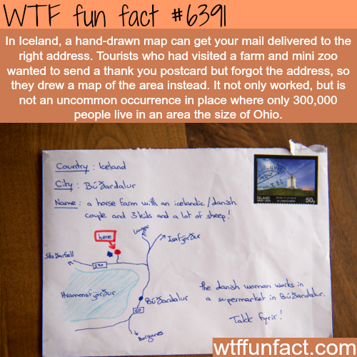 Awesome facts about Iceland - WTF fun facts