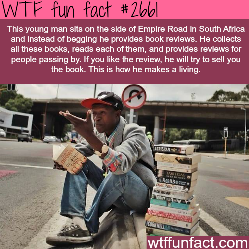 Awesome people around the world -WTF funfacts