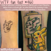 bad pikachu tattoo gets fixed by tattoo artist