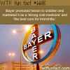 bayer once promoted heroin to kids wtf fun fact
