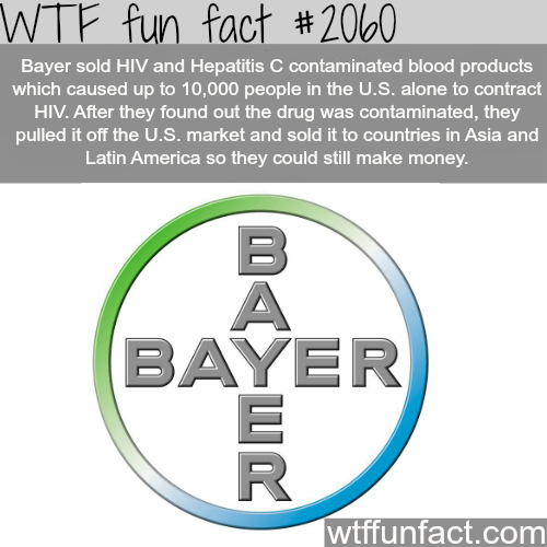 Bayer - WTF fun facts