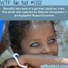 beautiful blue eyes of an indian girl wtf fun