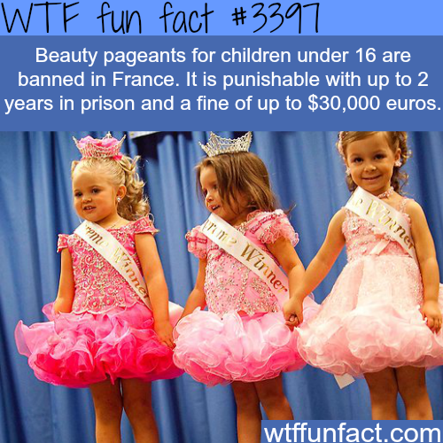 Beauty pageants should be banned for kids -  WTF fun facts